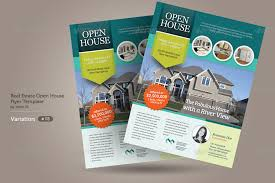 realtor open house flyers real estate open house flyers by kinzi21 graphicriver