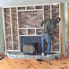 fireplace removal ideas best stone over brick fireplace remodel interior planning house ideas top under