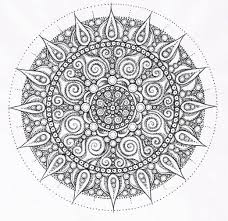 Small Picture Advanced Mandala Coloring Pages The Difficult Level Gianfredanet