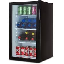 Undercounter Beverage Refrigerator Glass Door Della Beverage Refrigerator Cooler Compact Mini Bar Fridge Beer