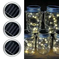 solar mason jar light solar mason jar lights led fairy light string lights garden decor bottle not included free on orders over diy solar