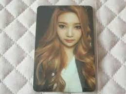 Ver Joy Red Velvet 1st Mini Album Ice Cream Cake Photocard K Pop