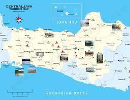 central java map  peta jawa tengah
