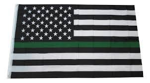 free shipping green <b>Line usa Police</b> Flags, 90*150cm Thin <b>Blue Line</b> ...