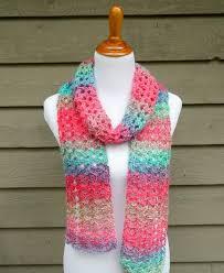 Lacy Crochet Scarf Pattern