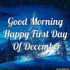 Good Morning December Quotes Best of Good Morning Happy First Day Of December Gif Quote Christmas