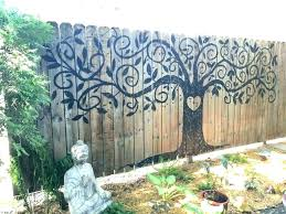 outdoor wall decoration decor ideas large art size of garden murals outside decorations outdoor wall decor