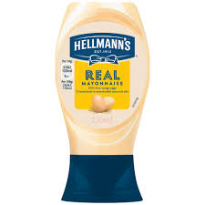 Hellmans Light Mayo Barcode Hellmanns Real Squeezy Mayonnaise 250ml Bestway Wholesale