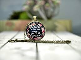 <b>She has fire in</b> her soul and grace in her heart   Etsy