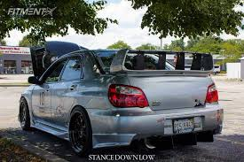 subaru wrx 2004 stance.  Wrx 3 2004 Wrx Sti Subaru Stance Coilovers Aodhan Ah06 Black Intended M