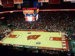 Kohl Center Section 307 Row G Seat 1 Wisconsin Badgers