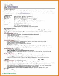 Excel Resume Template Fashion Retail Resume Free Pdf Template Best