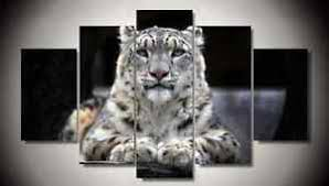 image is loading framed canvas prints wild animal white snow leopard  on snow leopard canvas wall art with framed canvas prints wild animal white snow leopard tiger wall art