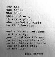 For Her The Ocean Was More Than A Dream It Was A Place She Needed