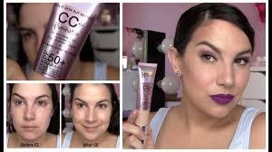 It Cosmetics Cc Cream Light Review It Cosmetics Cc Illumination Review