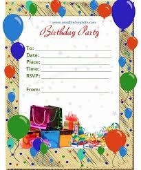 Birthday Cards Templates Word Birthday Invite Template Sweet Pinterest Birthday Card Within