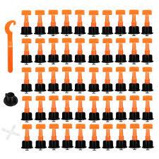 50pcs plastic ceramic tile leveler tools tile leveling locator t leveling system kits tile spacers cod
