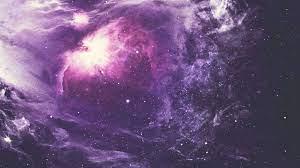 Purple Space Wallpaper 4k