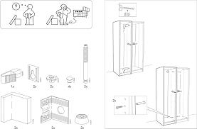 Handleiding Ikea Pax Garderobekast Pagina 4 Van 12 Dansk