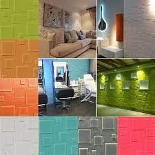 3d foam self adhesive wall sticker