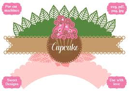 Here's an assortment of over two dozen free printable cupcake wrappers that i've collected from around the click here to download the file. Cupcake Wrapper Secret Garden Graphic By Jgalluccio Creative Fabrica Criatividade