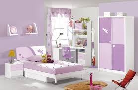 Purple Wallpaper Bedroom Kids Furniture Children Bedroom Furniture Set A White Bed With