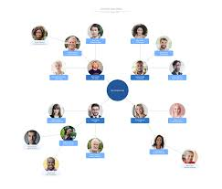 Template Responsibilities Framework Org Chart Lucidchart