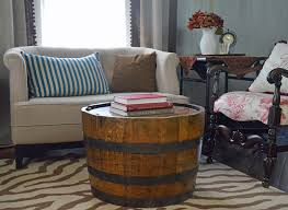 wine barrell furniture. Wonderful Barrell Whiskey Barrel Coffee Table Intended Wine Barrell Furniture