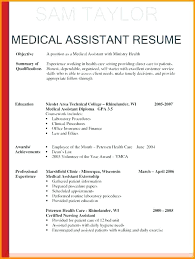 Cna Resume Examples Resume For Hospital Objectives For Medical