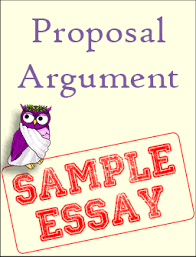 sample proposal argument excelsior college owl proposal argument sample essay thumbnail