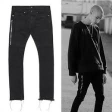 designer edge lighting. wholesale3036 mens designer clothes european clothing slp rock 424 fourtwofour raw edges black denim pants rockstar skinny jeans men edge lighting