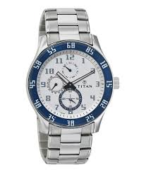 titan white and stainless steel casual watch 1632sm01 buy titan titan white and stainless steel casual watch 1632sm01