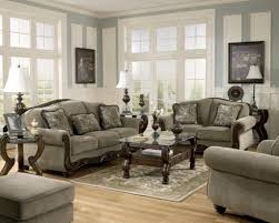 Living Room Sofa And Loveseat Sets Martinsburg Ashley Traditional Sofa Love Seat Amp Chair 3 Pc