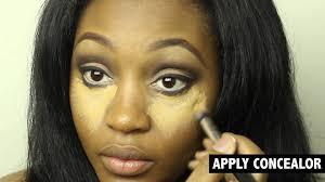 simple full face makeup tutorial you kayda george