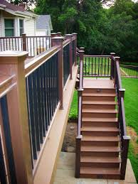 blog 3 deck accent lighting. Blog 3 Deck Accent Lighting. Timbertech Composite With Radiance Railing And Lights Lighting