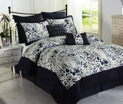 black and blue comforter sets queen clearance pc luxury