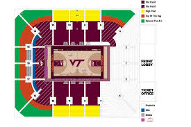 Lane Stadium Seating Chart Student Section Hokietickets Com