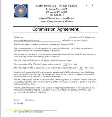 Commision Agreement Template – Custosathletics.co