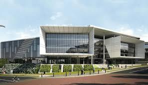 office building facades. Breathtaking Elegant Office Contemporary Building Facades 9