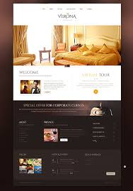 Baseball Websites Templates Attractive Relaxing Hotel Website Templates Entheos