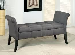 spin prod storage gray tufted bench simple shoe living room storage bench49