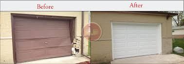 garage door framingGarage Doors Before and AfterGarage Door Installation  Aladdin Doors