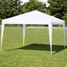 best choice s 10x10ft outdoor portable adjule instant pop up gazebo canopy tent w carrying bag white com