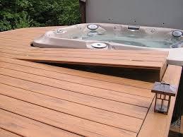 hot tub deck. 138 Best Spa Extérieur Images On Pinterest Deck Around Hot Tub