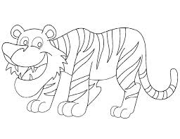 Small Picture National animals tiger coloring page Download Free National
