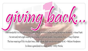 Giving Back Quotes Unique Quotes About Giving Back Inspiration Motivational Quotes Led Me To