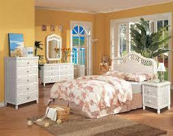 wicker bedroom furniture. Santa Cruz Bedroom Furniture Wicker White Wash Finish Collection B
