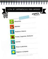 Lista De Compras Supermercado Organize Sem Frescuras Rafaela Oliveira Arquivos Lista De