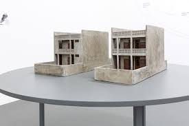 what representations ibraaz  a proposal for a new social housing project 2013 ongoing concrete models installation view witte de center for contemporary art 2016