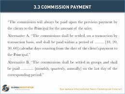 Sales Commission Agreement Template New Sales Mission Agreement Best ...
